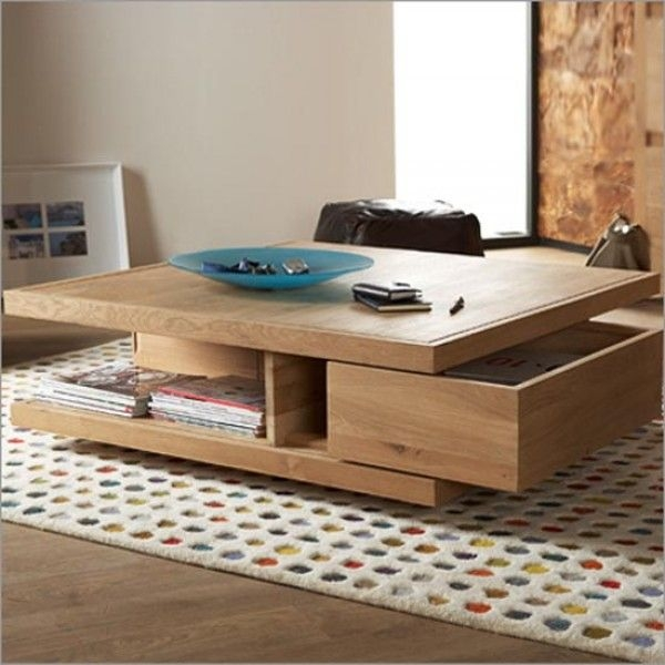 Brilliant New Square Coffee Tables With Storage Regarding Best 25 Coffee Table With Storage Ideas Only On Pinterest (View 42 of 50)