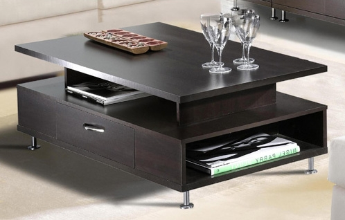 Brilliant New Square Wood Coffee Tables With Storage With Regard To Brilliant Square Coffee Tables With Storage Brown Espresso Wood (Image 14 of 50)
