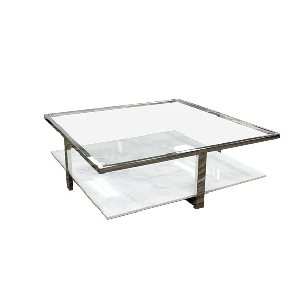 Brilliant New White And Glass Coffee Tables Pertaining To White Marble Coffee Table With Glass Top Coffeetablesmartin (View 31 of 40)