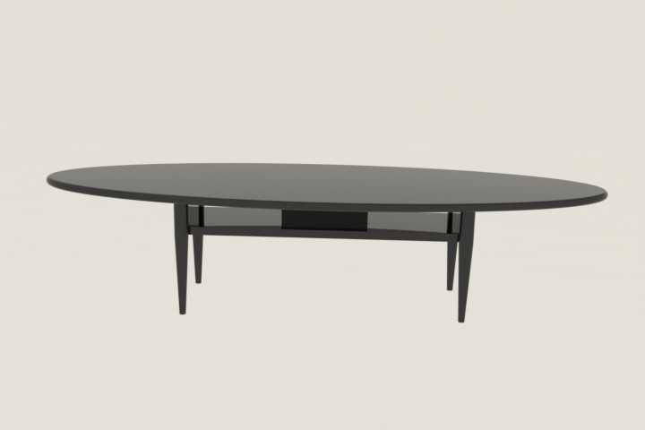 Brilliant Popular Black Oval Coffee Tables With Regard To Oval Coffee Table Ikea Roselawnlutheran (View 13 of 40)