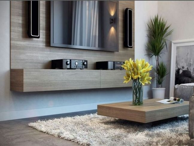 Brilliant Popular Coffee Table And Tv Unit Sets With Simple Tv Stand And Coffee Table Set On Small Villa Remodel Ideas (Image 7 of 50)