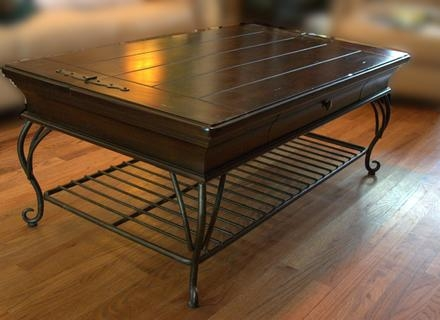Brilliant Popular Dark Wood Chest Coffee Tables In Wooden Trunk Coffee Table Jerichomafjarproject (Image 8 of 50)