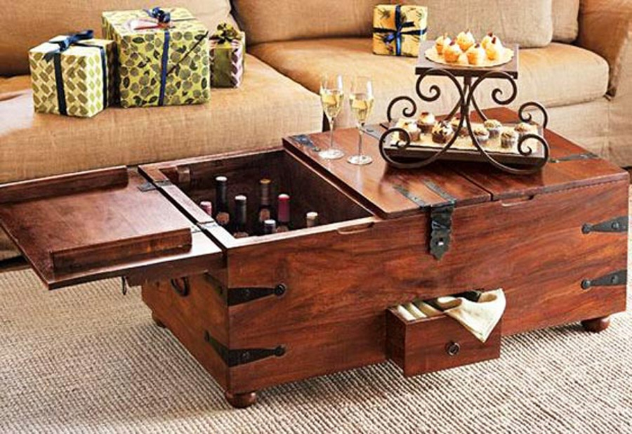 Brilliant Popular Dark Wood Coffee Table Storages Pertaining To Brilliant Square Coffee Tables With Storage Brown Espresso Wood (View 8 of 50)