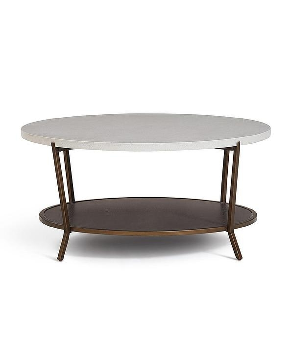 Brilliant Popular Grey Wash Coffee Tables Intended For Blake Grey Wash Oval Coffee Table Crate And Barrel (View 18 of 50)