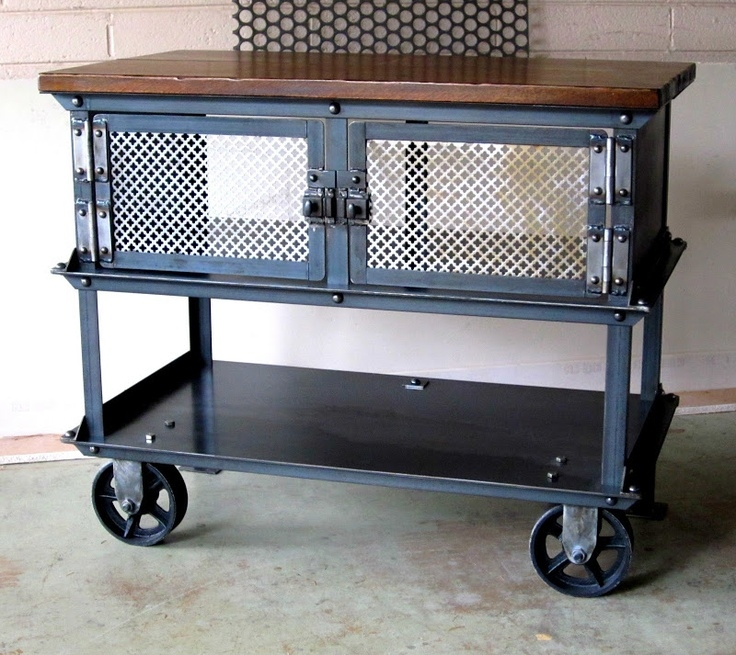 Brilliant Popular Industrial Style TV Stands Regarding 65 Best Muebles Images On Pinterest (View 48 of 50)