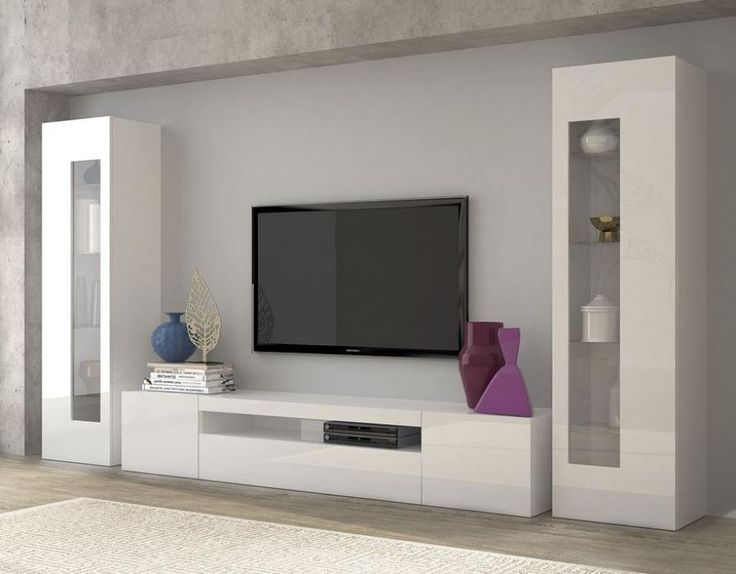 Brilliant Popular Long White TV Cabinets Throughout Best 25 White Tv Unit Ideas On Pinterest White Tv Ikea Tv And (Image 11 of 50)