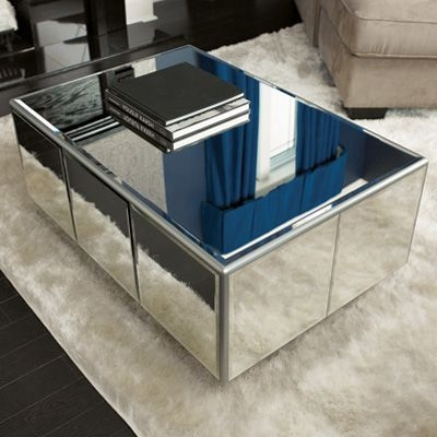 Brilliant Popular Mirrored Coffee Tables Pertaining To Best 20 Mirrored Coffee Tables Ideas On Pinterest Home Living (Photo 7 of 50)