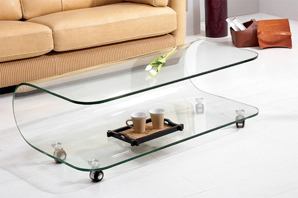 Brilliant Popular Modern Glass Coffee Tables For Modern Glass Coffee Tables (Image 12 of 50)
