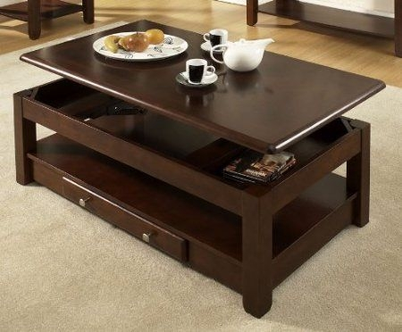 Brilliant Popular Pull Up Coffee Tables With 25 Best Lift Up Coffee Table Images On Pinterest Lift Top Coffee (Image 6 of 50)