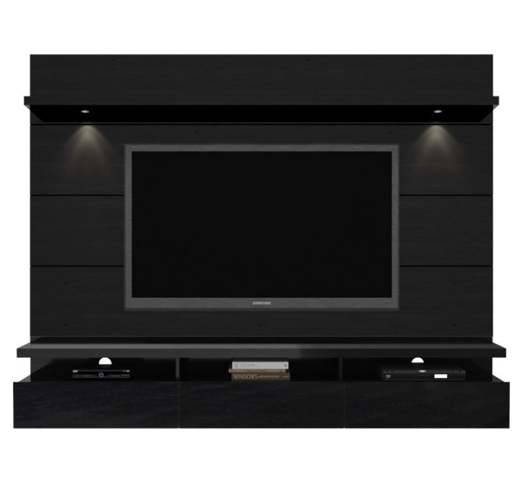 Brilliant Popular Wall Mounted TV Stands Entertainment Consoles Pertaining To Entertainment Center Tv Stand Modern Media Console Wall Mounted (View 32 of 50)