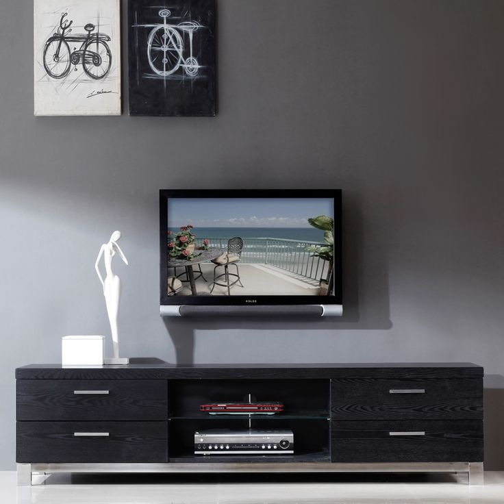 Brilliant Preferred Contemporary Black TV Stands Throughout 186 Best Audio Cabinets Below Tv Images On Pinterest Audio Tv (View 3 of 50)