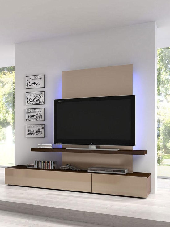 Brilliant Preferred Contemporary TV Stands For Flat Screens Throughout Modern Wall Units And Tv Stands (View 38 of 50)