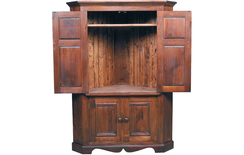 Brilliant Preferred Corner TV Cabinets For Flat Screens With Doors Inside Armoire Recomended Armoire Tv For Home Entertainment Armoire Tv (Image 13 of 50)