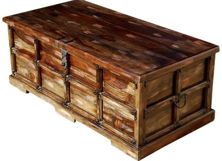 Brilliant Preferred Large Trunk Coffee Tables With Regard To Coffee Table Trunk Chest Jerichomafjarproject (Image 10 of 50)