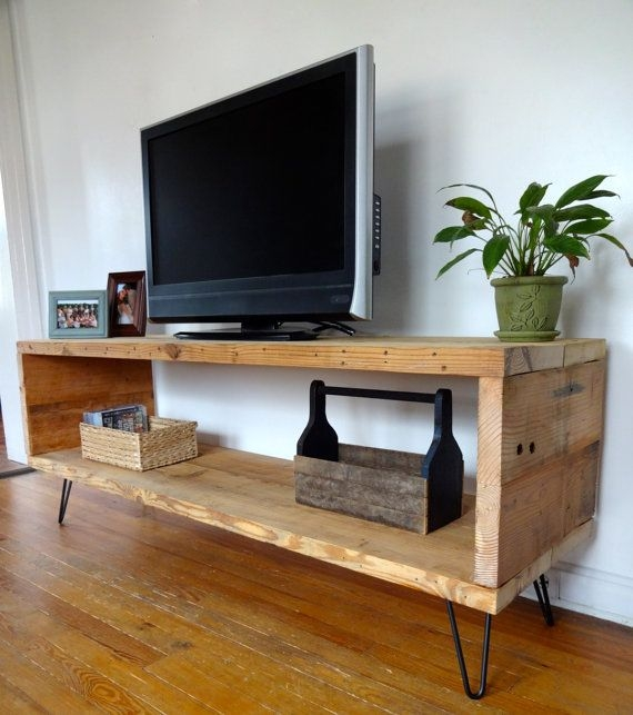 Brilliant Preferred Reclaimed Wood And Metal TV Stands Inside Best 25 Diy Tv Stand Ideas On Pinterest Restoring Furniture (Image 14 of 50)