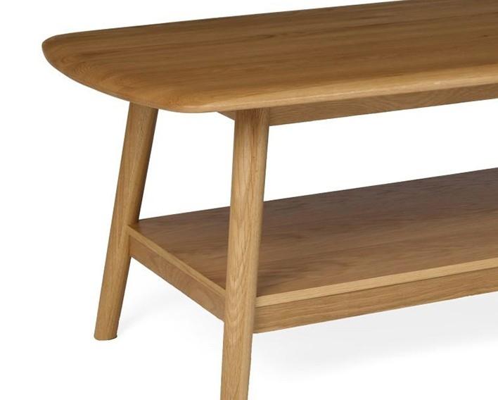 Brilliant Preferred Retro Oak Coffee Tables Regarding Hutch Stockholm Retro Oak Coffee Table (View 16 of 50)