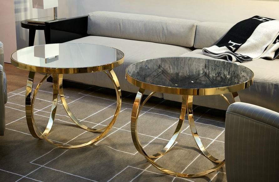 Brilliant Preferred Small Mirrored Coffee Tables Within Stunning Round Mirrored Coffee Table (View 4 of 50)