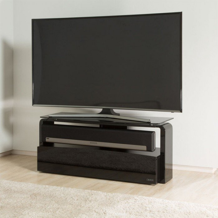 Brilliant Preferred Sonos TV Stands Throughout Sonos Playbar Black Tv Stand As (View 11 of 50)