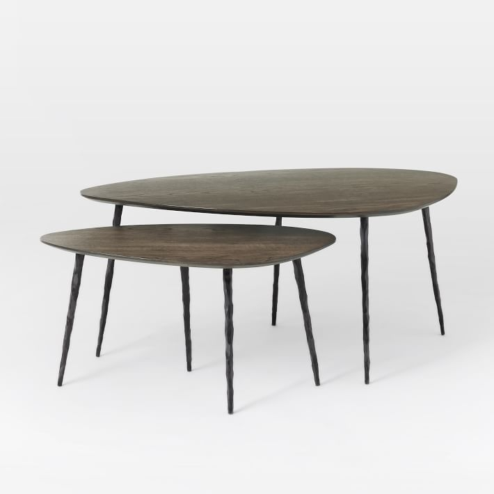 Brilliant Preferred Stackable Coffee Tables Intended For Architect Nesting Coffee  Tables West Elm (Image 7