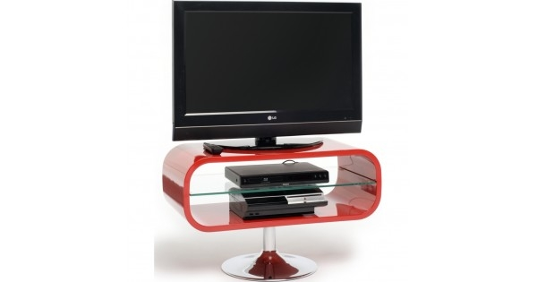 Brilliant Preferred Techlink TV Stands With Retro Chrome Pedestal Quick To Assemble Displays Up To  (Image 15 of 50)
