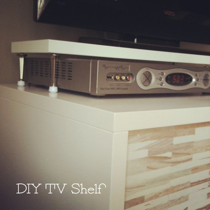 Brilliant Preferred TV Stands Over Cable Box With Best 25 Tv Shelf Ideas On Pinterest Floating Tv Stand Tv Wall (Image 11 of 50)