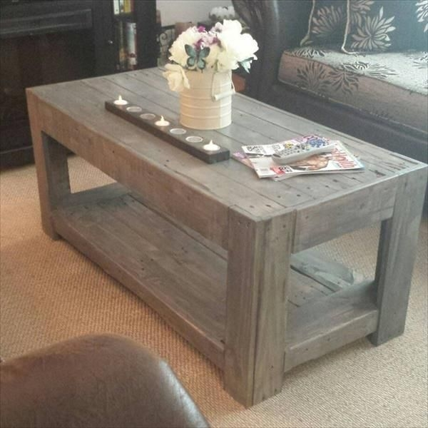 Brilliant Preferred Very Large Coffee Tables Intended For Best 20 Pallet Coffee Tables Ideas On Pinterest Paint Wood (View 44 of 50)