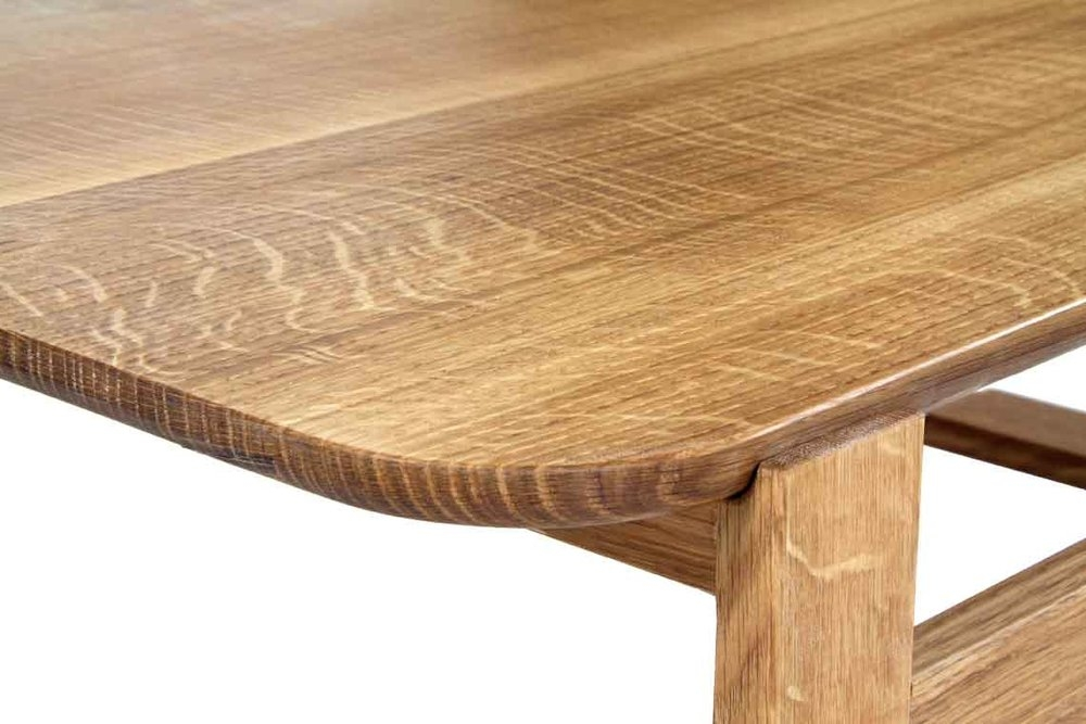Brilliant Preferred White And Oak Coffee Tables Throughout Olmsted Coffee Table White Oak Cherry 57st Design (Image 11 of 50)