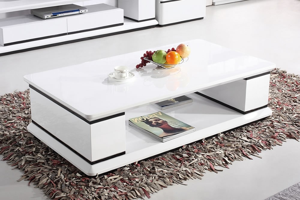 Brilliant Preferred White Gloss Coffee Tables With White Coffee Tables (Image 10 of 50)