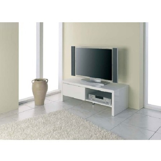 Brilliant Preferred White Small Corner TV Stands Regarding White Gloss Corner Unit Latest Full Size Of Furnituretv Unit For (Image 9 of 50)