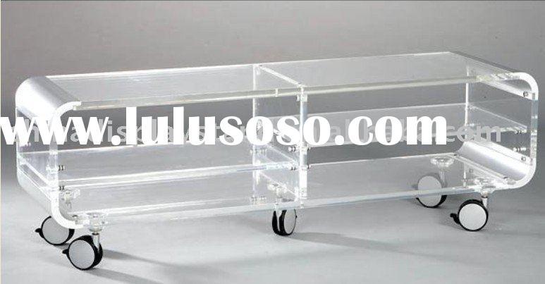Brilliant Premium Acrylic TV Stands Inside Acrylic Tv Stand Acrylic Tv Stand Manufacturers In Lulusoso (Image 9 of 50)