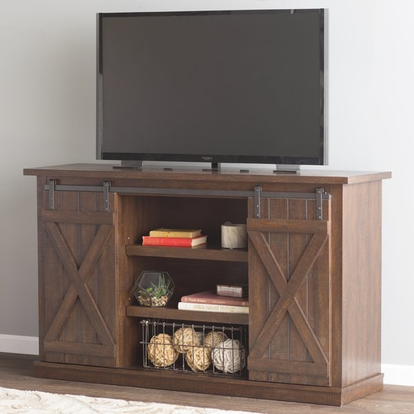 Brilliant Premium Cheap Rustic TV Stands Throughout Tv Stands Youll Love Wayfair (View 34 of 50)