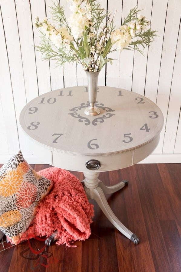Brilliant Premium Coffee Tables With Clock Top With Best 20 Clock Table Ideas On Pinterest Small Round Side Table (Image 11 of 40)