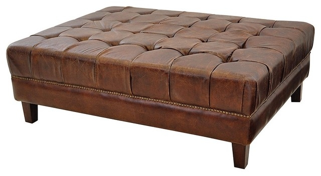 Brilliant Premium Footstool Coffee Tables With Coffee Table Amazing Modern Leather Ottoman Coffee Table 20 Inch (Image 9 of 40)