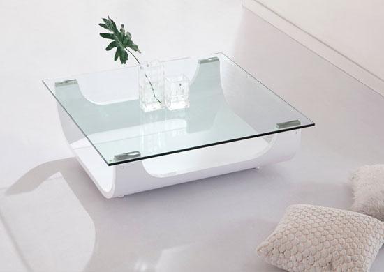 Brilliant Premium Large Low White Coffee Tables For Coffee Table Glass And White Coffee Table Iceberg Contemporary (Image 7 of 50)