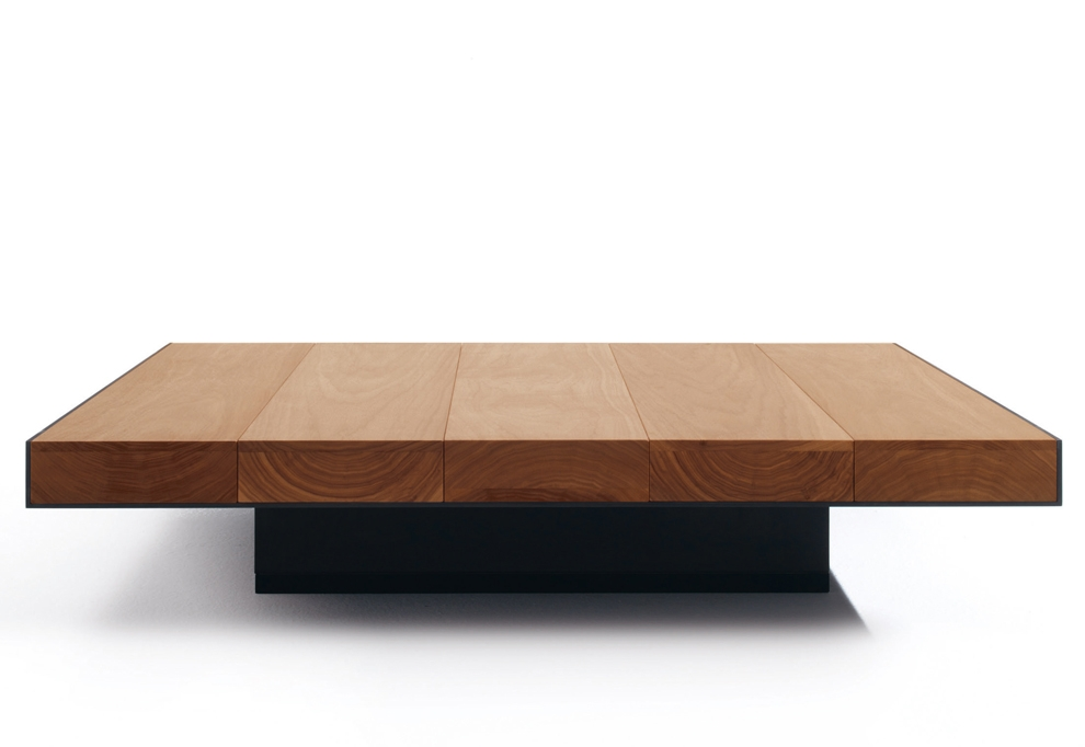 Brilliant Premium Large Low Wood Coffee Tables Pertaining To Low Square Coffee Table (View 8 of 50)