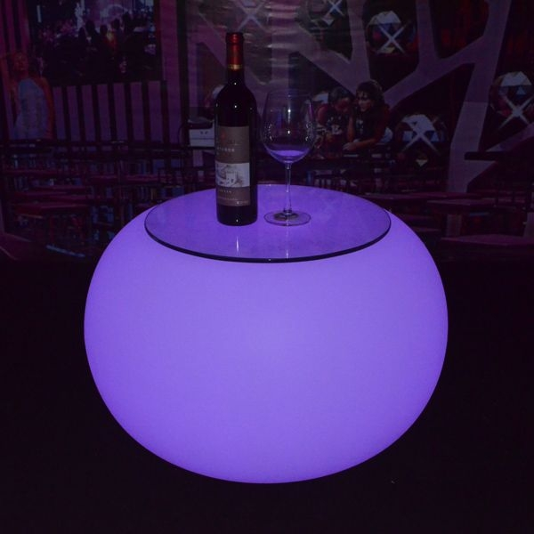 Brilliant Premium Led Coffee Tables Pertaining To Rohs Led Coffee Table With Dmx Lighting Lounge Round Table For Club (Image 11 of 50)