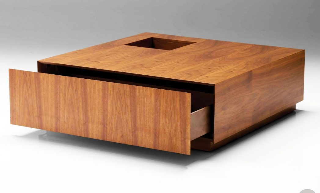 Brilliant Premium Low Coffee Tables With Storage Within Low Coffee Table Square Coffee Tables Thippo (Image 7 of 40)