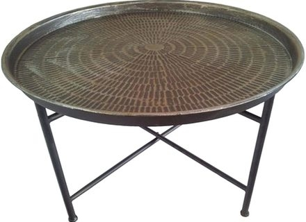 Brilliant Premium Metal Round Coffee Tables With Round Glass And Metal Coffee Table Jerichomafjarproject (View 49 of 50)