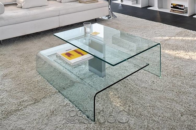 Brilliant Premium Modern Glass Coffee Tables  Pertaining To Modern Glass Coffee Table Table And Estate (Image 13 of 50)