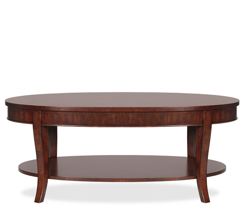 Brilliant Premium Oval Shaped Coffee Tables Regarding Lincoln Oval Coffee Table Picture Coffeetablesmartin (View 13 of 50)
