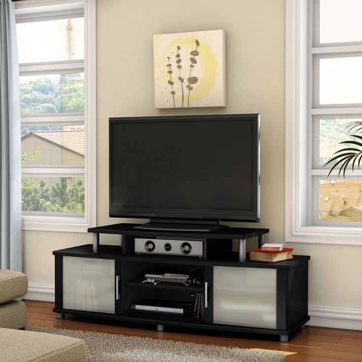 Brilliant Premium Ovid TV Stands Black Throughout 85 Best Tv Stands Images On Pinterest Tv Stands Entertainment (Image 10 of 50)