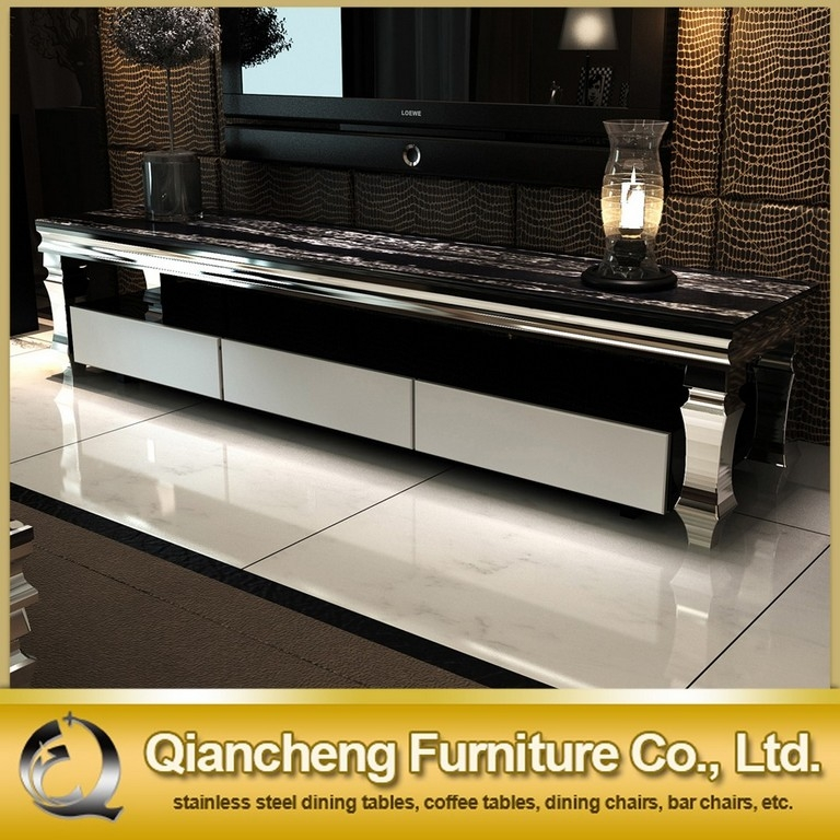 Brilliant Premium Silver Corner TV Stands Inside Tv Stand For 50 Inch Samsung (Image 14 of 50)