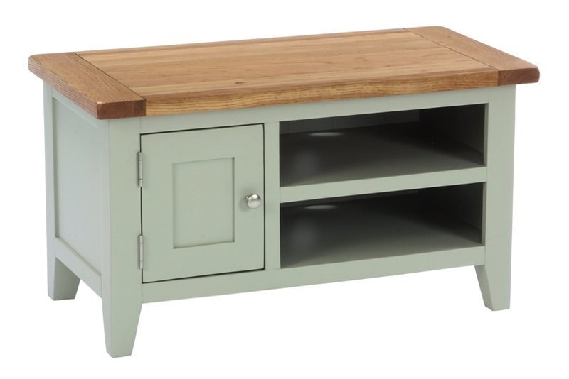 Brilliant Premium Small TV Cabinets Within Painted Furniture Preston Oak Furniture Leyland Painted (Image 11 of 50)
