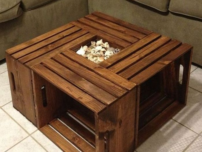 Brilliant Premium Square Wood Coffee Tables With Storage Pertaining To Rustic Square Coffee Table With Open Shelf And Storage Coffee (Image 15 of 50)