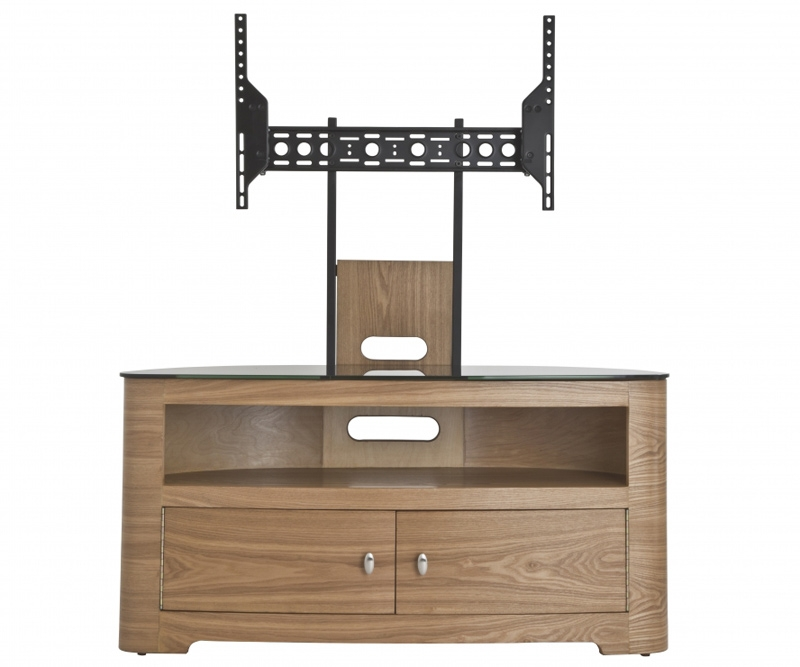 Brilliant Premium TV Stands 100cm For Avf Blenheim Oak Tv Stand With Mount For Up To (View 4 of 50)