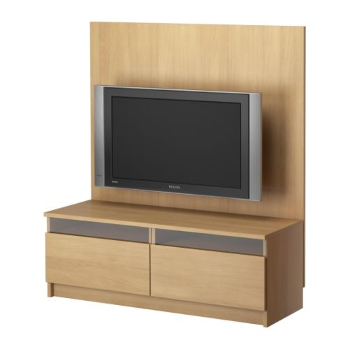 Brilliant Premium TV Stands With Back Panel Regarding New Benno Tv Stand Ikea With A Reinforced Back To Mount The Tv (Image 14 of 50)