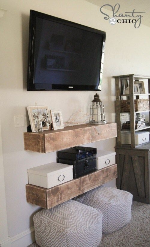 Brilliant Premium Under TV Cabinets Throughout Best 25 Mounted Tv Decor Ideas On Pinterest Hanging Tv Tv (Image 12 of 50)