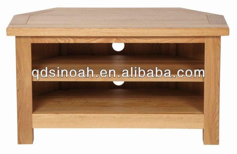 Brilliant Premium Wooden Corner TV Cabinets Inside Corner Tv Stand Wooden Home Design Ideas (View 25 of 50)