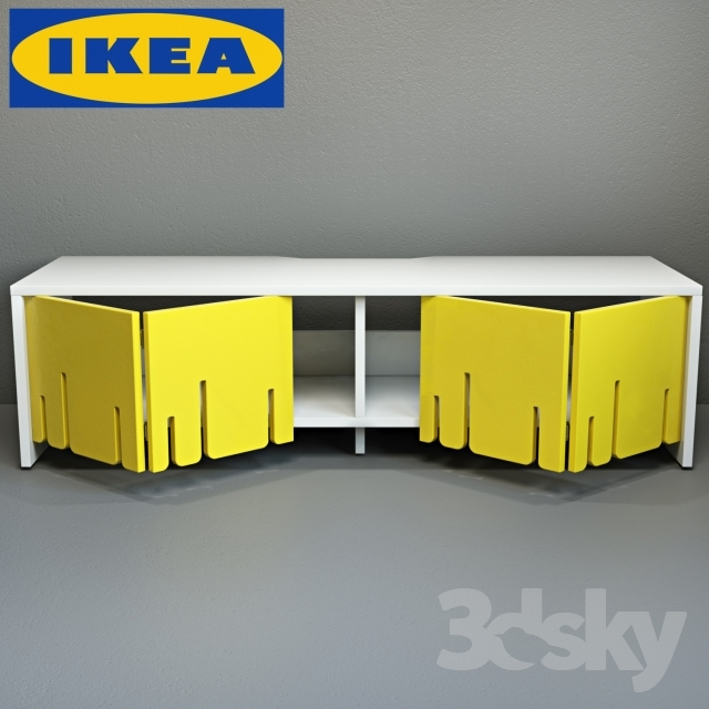 Brilliant Premium Yellow TV Stands IKEA With Regard To 3d Models Sideboard Chest Of Drawer Ikea Ps 2012 Tv Stand (View 15 of 50)
