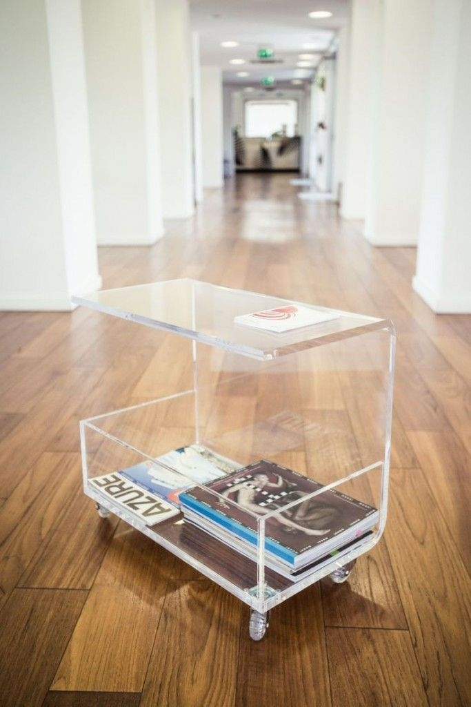 Brilliant Series Of Acrylic Coffee Tables With Magazine Rack In 761 Best Coffee Side Tables Images On Pinterest Side Tables (View 27 of 40)